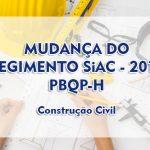 SiAC – 2018 – PBQP-h – Novo Regimento