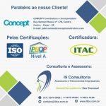 Certificação CONCEPT Construtora