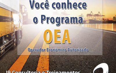 Programa OEA – Operador Econômico Autorizado