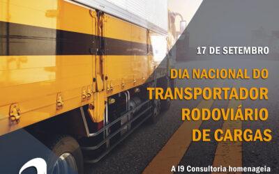 17 de Setembro – Dia Nacional do Transportador Rodoviário de Cargas