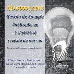 Revisão da ISO 50001 – Sistema de Gestão de Energia