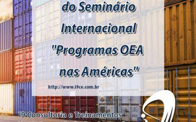 "Rachid participa do Seminário Internacional ""Programas OEA nas Américas"""