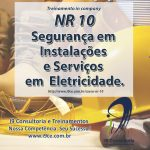 Treinamento – NR 10 – Segurança em Instalações e Serviços em Eletricidade