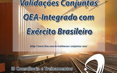 Validações Conjuntas OEA-Integrado com Exército Brasileiro