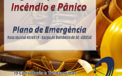 Segurança Contra Incêndio e Pânico – Nota técnica 43/2019
