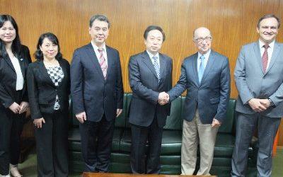 OEA – Receita Federal firma plano de trabalho conjunto com a aduana da China