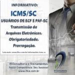 ICMS/SC – USUÁRIOS DE ECF E PAF-EC