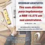 Webinar NBR 15.575 com Fernanda Barros