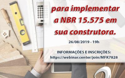 Webinar Gratuito – NBR 15.575