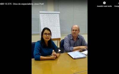 Vídeo – Dica do especialista José Poli sobre como implantar a NBR 15.575