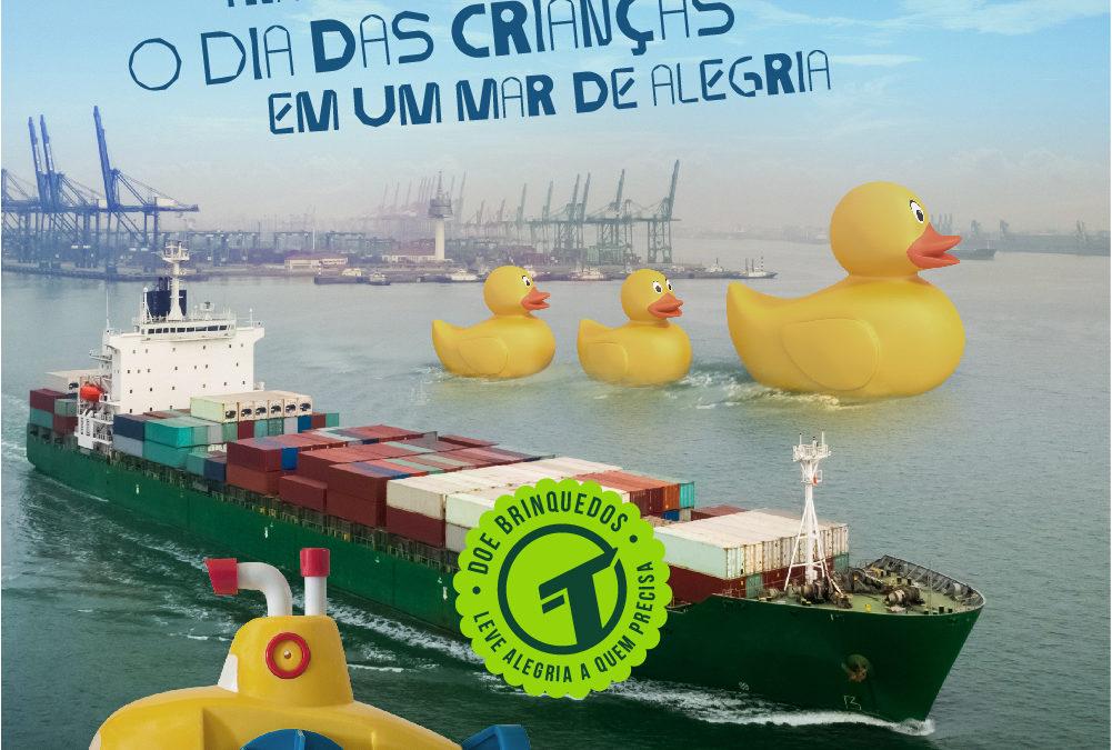 Campanha Doe Brinquedos – Apoiamos o cliente Transit BR nesta campanha
