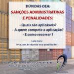 Dúvida OEA – Sanções Administrativas e Penalidades