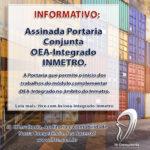 Assinada Portaria Conjunta OEA-Integrado Inmetro