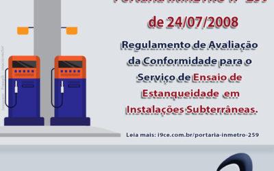 Portarias INMETRO: nº 259 de 24/07/08 e nº 11 de 11/01/2012