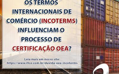 Dúvida OEA:Sobre os Termos Internacionais de Comércio (Incoterms)