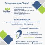 Cliente Certificado: Full Port – OEA-Segurança