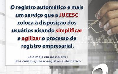 JUCESC – Passo a passo Registro Automático
