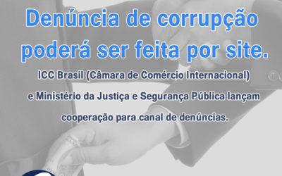 Notícia: Denúncia de corrupção poderá ser feita por site
