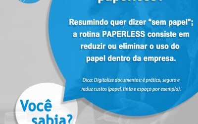Você sabe o que significa Paperless?