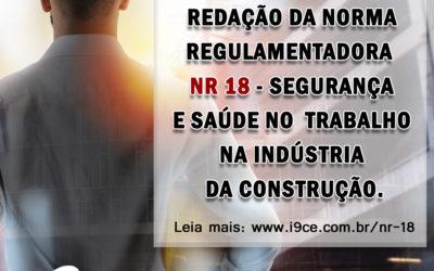 NR 18 – PORTARIA Nº 3.733, DE 10 DE FEVEREIRO DE 2020