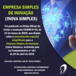 Inova Simples – RESOLUÇÃO CGSIM Nº 55 – Procedimento especial simplificado