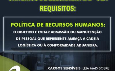 Dúvida OEA: Cargos Sensíveis