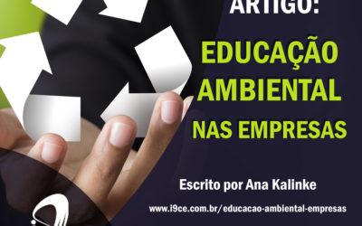 Artigo: Educação Ambiental nas Empresas