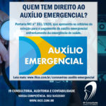 Portaria MC n° 351 – Coronavírus: Auxílio Emergencial