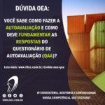 Dúvida OEA – Como fazer a Autoavaliação?