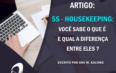 Artigo: 5S – Housekeeping