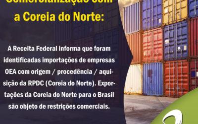 Comunicado OEA: Comercialização com a Coreia do Norte