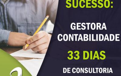 Case de Sucesso – Gestão Contabilidade – 33 dias de Consultoria