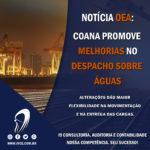 Notícia OEA: Coana promove melhorias no Despacho sobre Águas