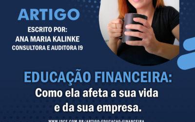 Artigo: Educação Financeira: Como ela afeta a sua vida e da sua empresa