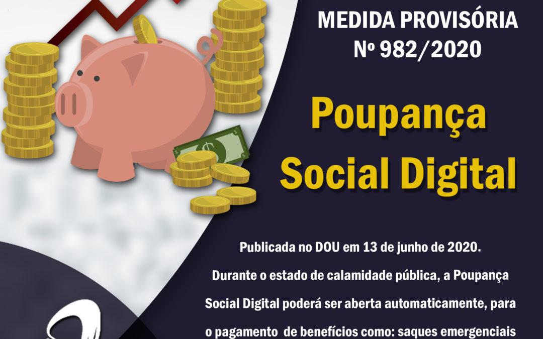 MP 982/2020 – Conta Poupança Social Digital