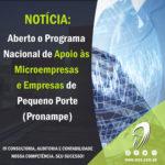 PRONAMPE – Programa Nacional de Apoio às Microempresas e Empresas de Pequeno Porte