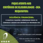 OEA – Critérios de Elegibilidade – Solvência Financeira
