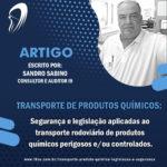 Transporte de produtos químicos: Segurança e legislação aplicadas