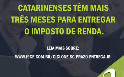 Notícias: Catarinenses têm mais três meses para entregar o Imposto de Renda