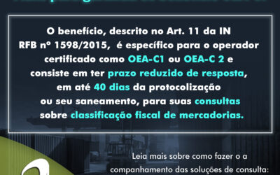 OEA-C – Fluxo para garantia de benefício OEA-C