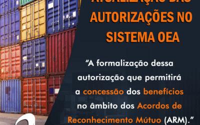 URGENTE: Necessidade de Atualização das Autorizações no Sistema OEA