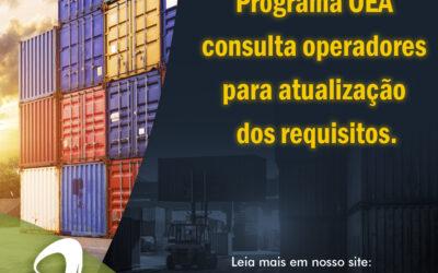 Notícia: Programa OEA consulta operadores para atualização dos requisitos