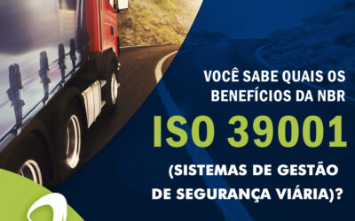 Certificação NBR ISO 39001