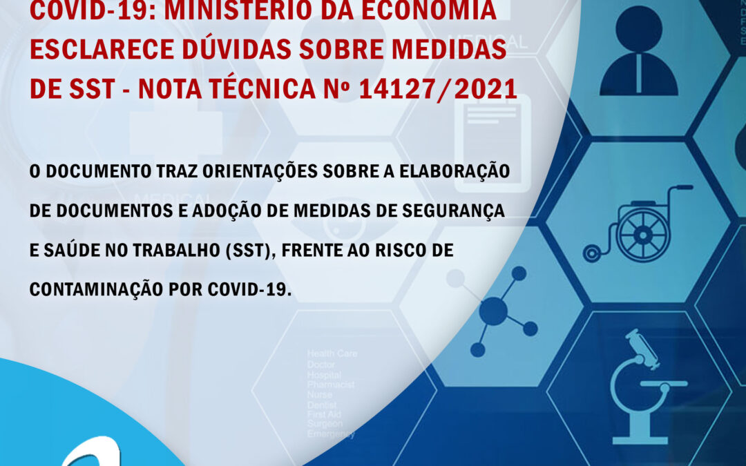 Nota Técnica SEI nº 14127/2021/ME – PCMSO X Covid-19