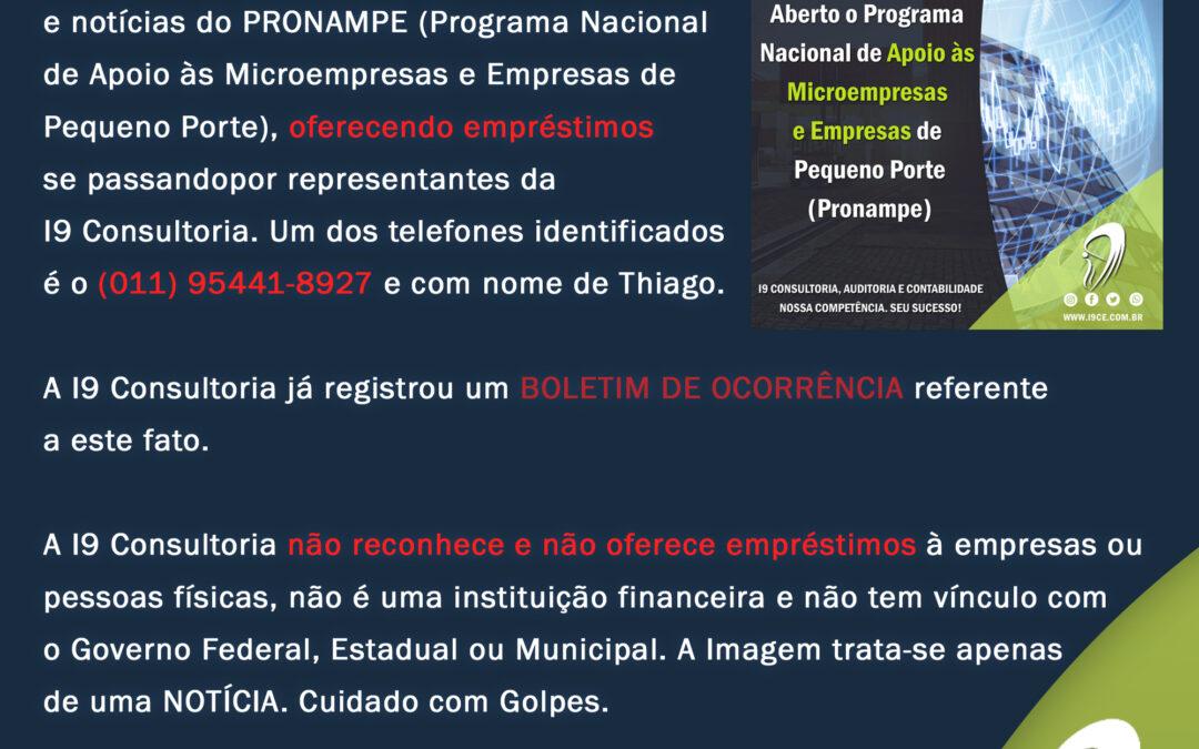 ATENÇÃO: GOLPE utilizando Imagem e Notícias publicadas em nosso site